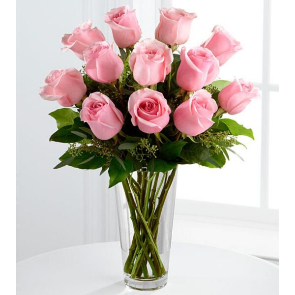 Pink Roses send to amman