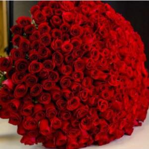 Rose 100 Red Roses- Lovely Fresh Flowers