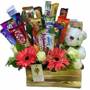 Chocolate and bear gift to Amman, Jordan