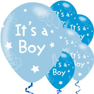 Send a beautiful set of balloons for a newborn baby boyto Jordan online . If you want a small batch of balloons for the occasion, this is the best choice for you .