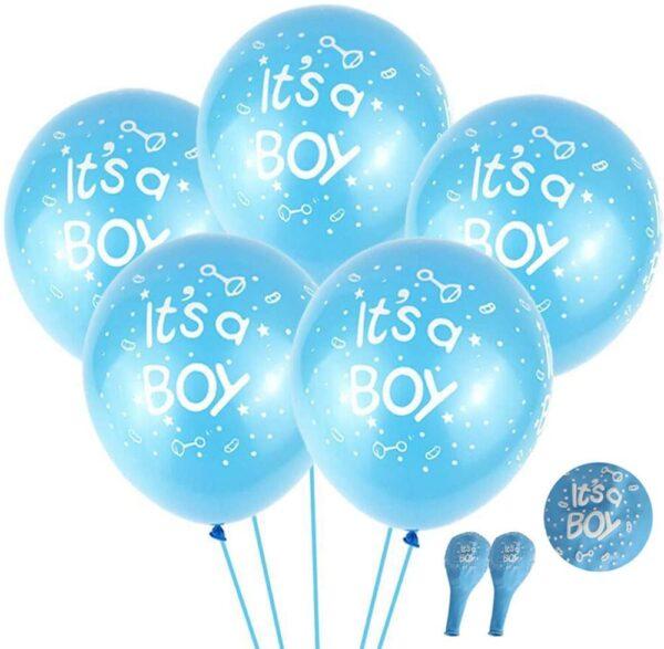 Baby Boy Balloons -
