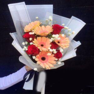 Sweet garbera flower